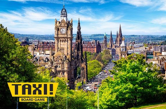 Taxi! Board Game Edinburgh edition