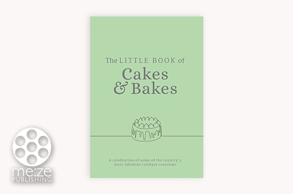 The Little Book of Cakes & Bakes Cook Book - £9