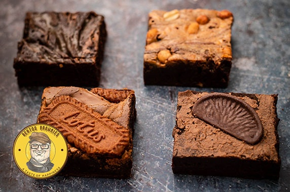 Luxury handmade brownies from Berto's Brownies