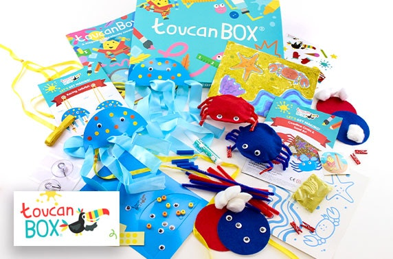 Kids craft box delivered from £5.95