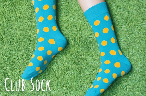 1 month subscription to Club Sock