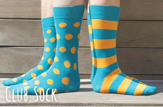 3 month subscription to Club Sock