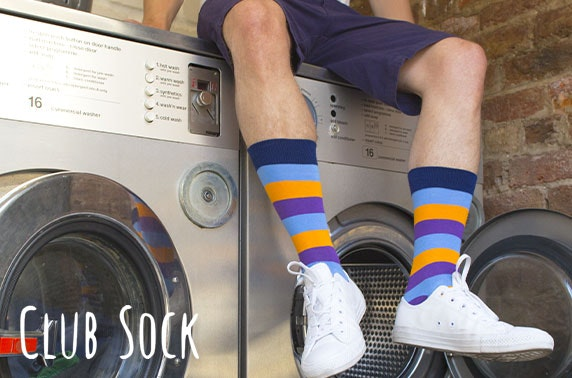 6 month subscription to Club Sock