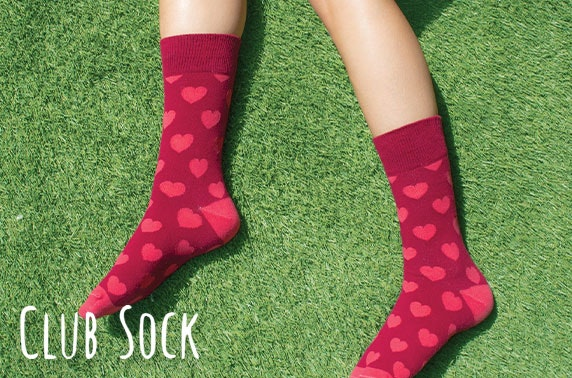 12 month subscription to Club Sock