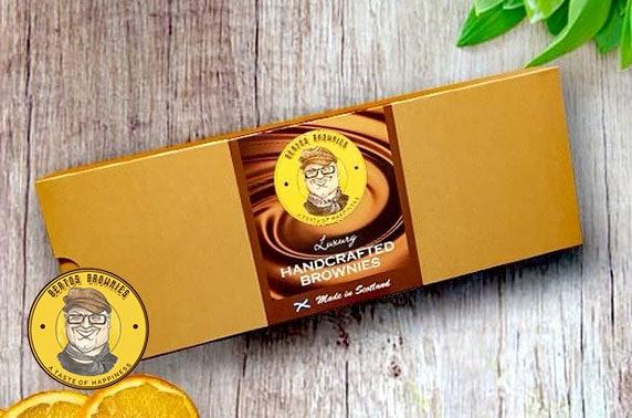 Luxury handmade brownies from Berto's Brownies