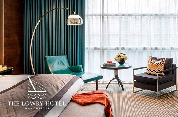 5* Lowry Hotel luxury stay, Manchester