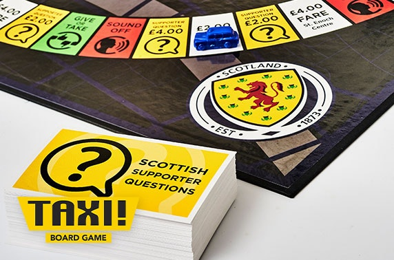 Taxi! Board Game Scottish Football edition