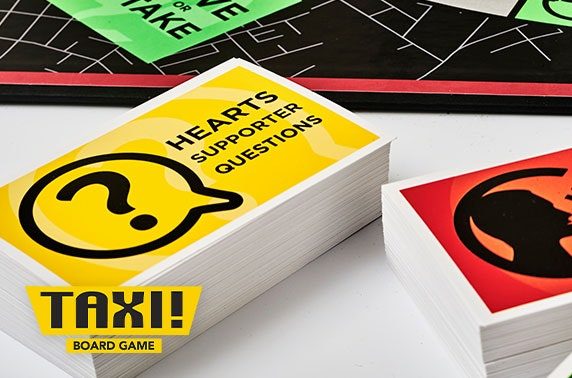 Taxi! Board Game Heart of Midlothian FC edition