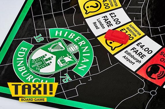Taxi! Board Game Hibernian FC edition