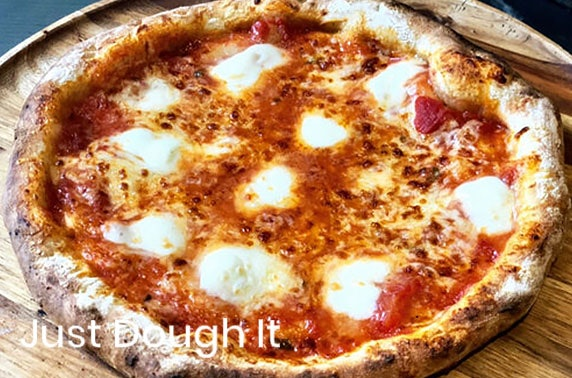 Two or four create your own pizza kits from Just Dough It, Edinburgh