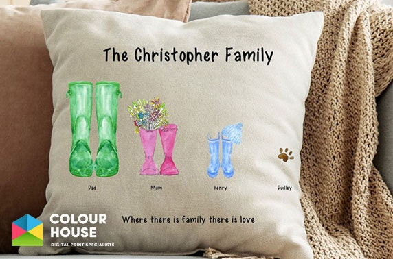 Personalised family products from £7