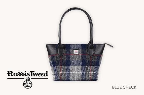 Harris Tweed large tote bag