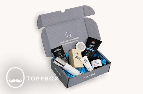 Men's personalised grooming box