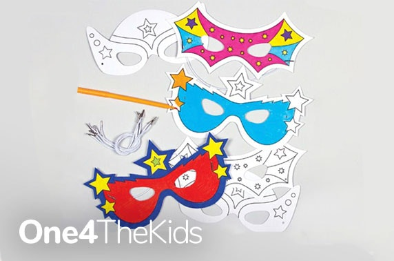 Kids Superhero or Princess activity pack - free delivery!