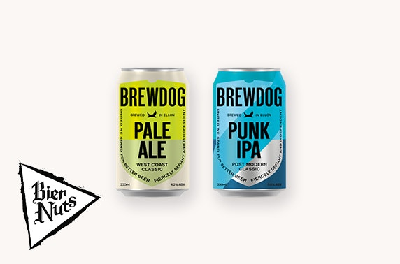 Bring the pub home with BrewDog & Bier Nuts!