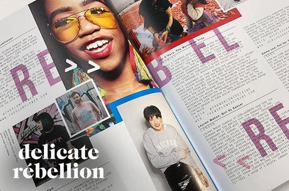 She Is Fierce magazine - The Rebels issue