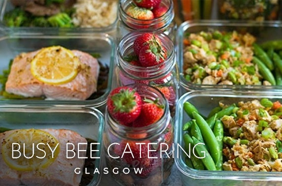 Busy Bee Catering voucher spend - inc. free delivery