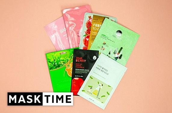 Korean sheet masks - from under £1.50 per mask!
