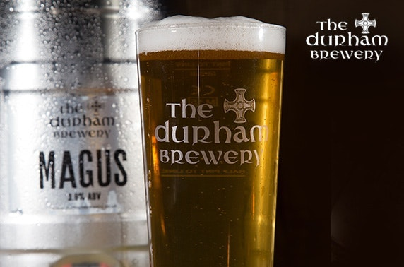 Case of Magus beers plus brewery tour from The Durham Brewery