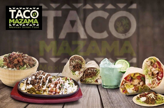 Taco Mazama takeaway - burritos, fajitas or quesadillas!