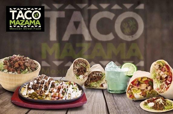 Taco Mazama takeaway - burritos, fajitas or quesadillas!