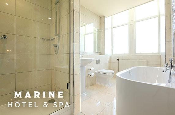 Marine Hotel & Spa stay, North Berwick