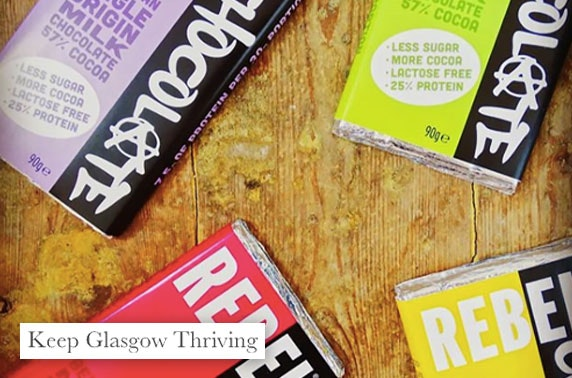 Keep Glasgow Thriving gift box