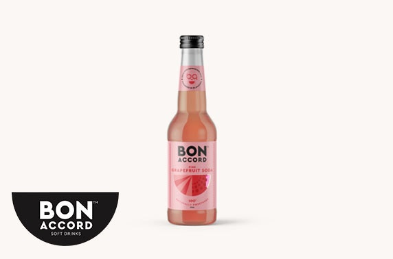Bon Accord Cream Soda, Pink Grapefruit & Bona-Cola soft drinks