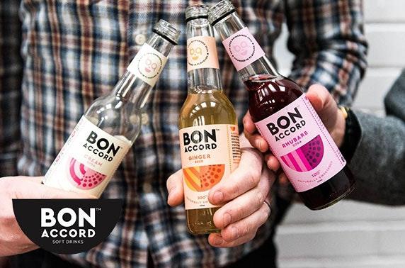 Bon Accord Cream Soda, Pink Grapefruit & Bona-Cola soft drinks