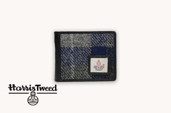 Harris Tweed bundle in blue check