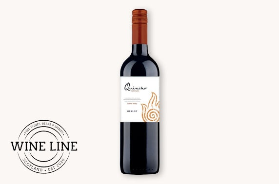 Case of Chilean wine - from £6.50 per bottle