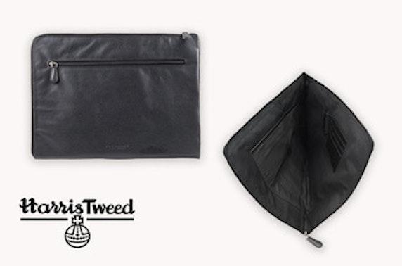 Harris Tweed folio sleeve