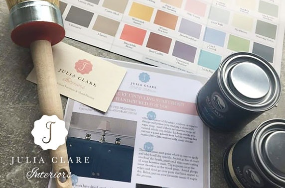 Upcycling kit inc. paint, furniture brush, colour guide and top tips!