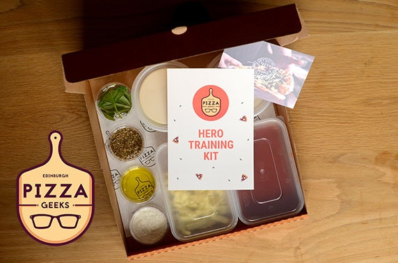 Pizza Geeks DIY pizza kits