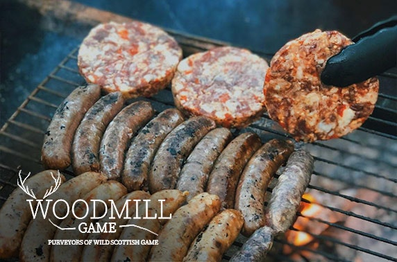 Wild game BBQ pack from Woodmill Game