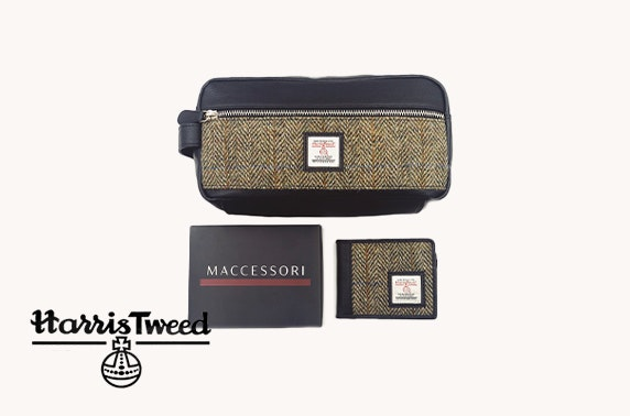 Harris Tweed bundle in country green