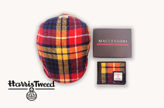 Harris Tweed bundle in saffron