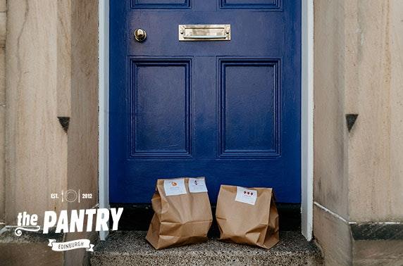 Brunch delivered from The Pantry, Stockbridge