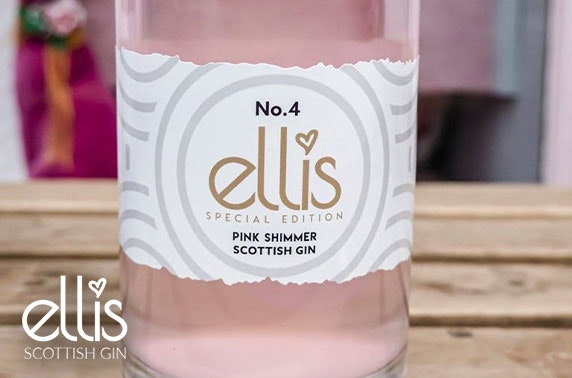 Ellis No.4 Pink Shimmer gin cocktail box