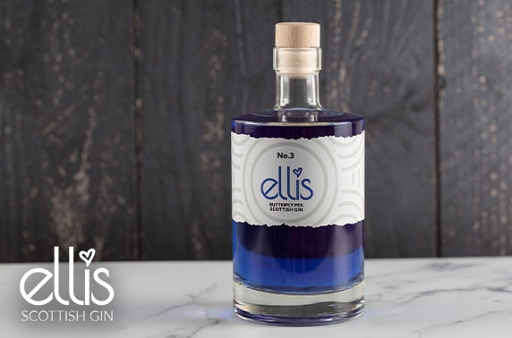 Ellis No.3 Butterfly Pea gin cocktail box
