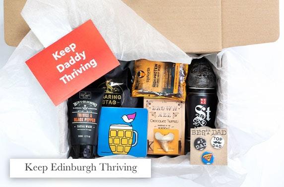 Keep Daddy Thriving gift box