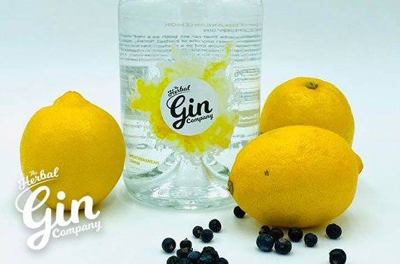 Gin & tonic pack from The Herbal Gin Company