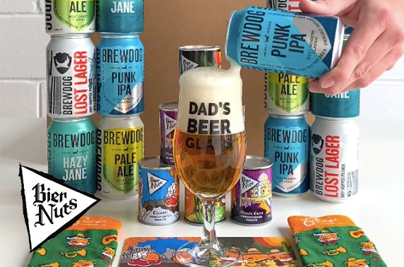 Father's Day BrewDog care package from Bier Nuts