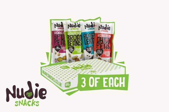 Nudie snacks from £10 - inc. delivery