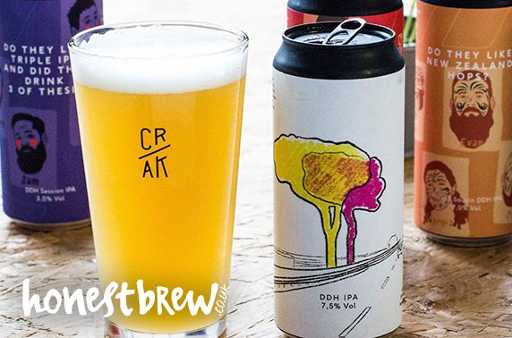 HonestBrew £20 voucher spend