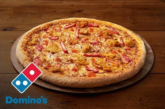 Domino's pizza delivered - from £12.99