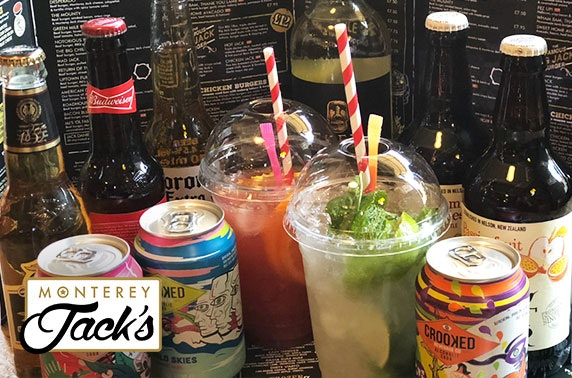 Takeaway burgers & drinks from award-winning Monterey Jacks