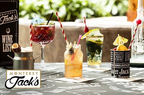 Takeaway burgers & cocktails from award-winning Monterey Jacks