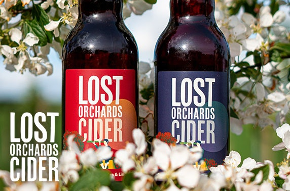 Cases of cider from Lost Orchards Cider - free UK P&P