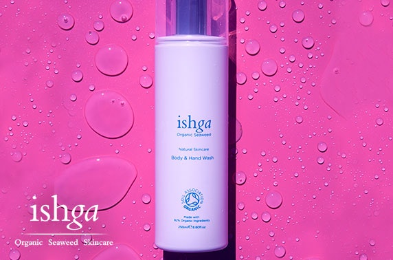 ishga products and Blythswood Spa voucher